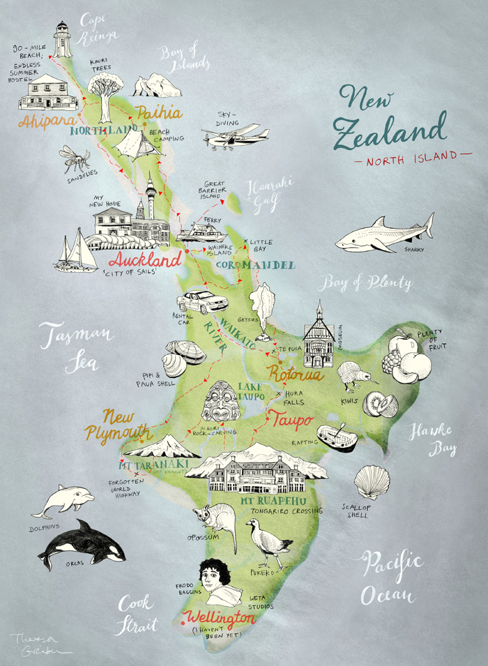 this is a preview of a map of new zealand 39 s north island that. Black Bedroom Furniture Sets. Home Design Ideas